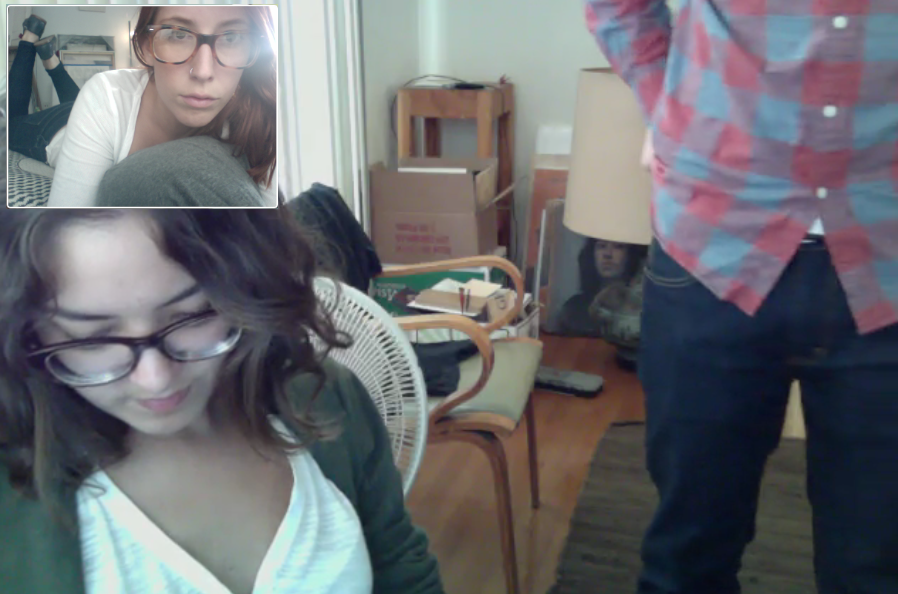 family video chat with my nan & mama chia