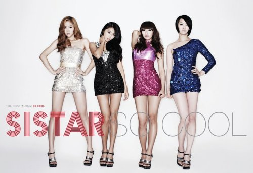 SISTAR - So Cool 1st Album (+ poster)$21.00 (folded poster)$25.00 (unfolded poster) *Poster will be sealed in a hard tube case
