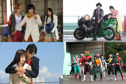 tokujoe:  Kamen Rider × Kamen Rider Fourze & OOO: Movie Wars MEGAMAX  This better make up for the last Movie Wars… UNNNNFFFFFF DOUBLE ACTORS ARE BACK! NOT JUST AS A VOICE CAMEO! Betting Suda ia wearing the Philip-wig since the buzzcut for his next dorama :P