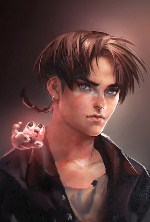 jim and morph from treasure planet *w* <3