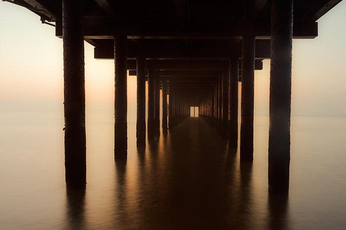 oxymoronical:  Southwold sunrise (by oleymoley)