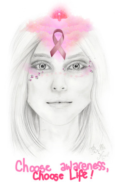 bohemianfoxes:  National Breast Cancer Awareness Month
