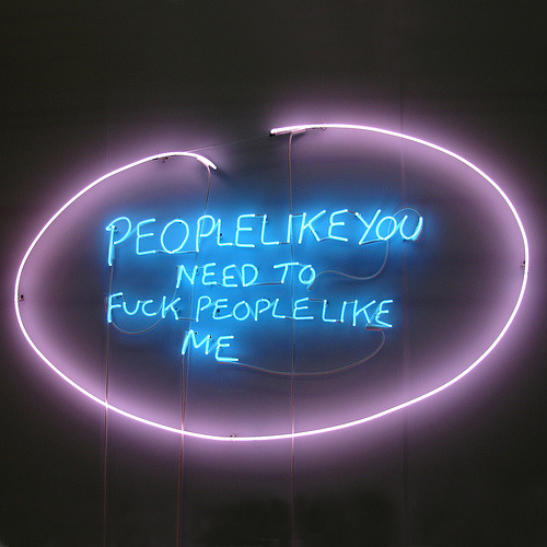 People like you…