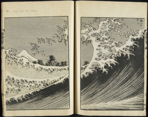 michaelcharles:  Once again… Hokusai One Hundred Views of Fuji Vol 2 1835 -printed 1875 link