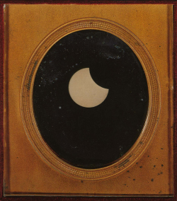 debutantesball:  mirabile—-visu:  Partial Eclipse of the Sun, 1851. source: angulaar