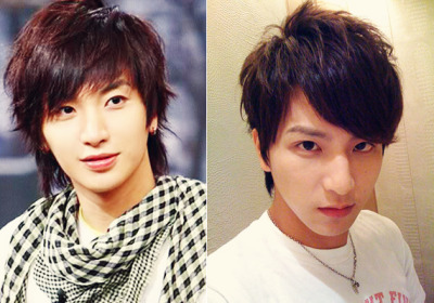 Leeteuk from SuJu and XiaoYu from Lollipop F