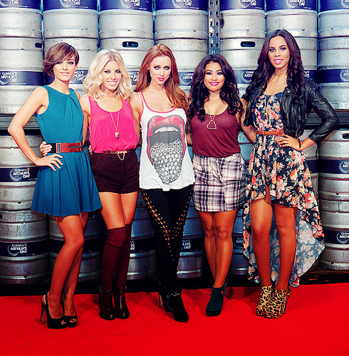 keepmeonyourradar:  The Saturdays At The Guinness Store House For Arthur's Day  why do people post my stuff :S