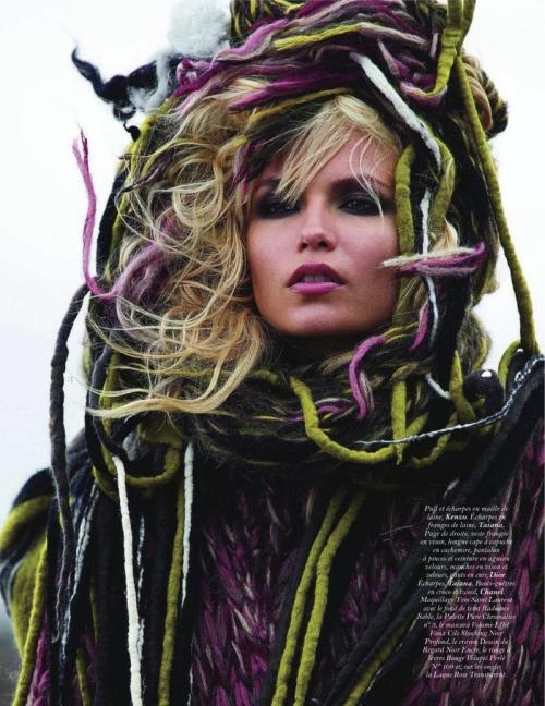 natasha poly by hans feurer for vogue paris september 2011