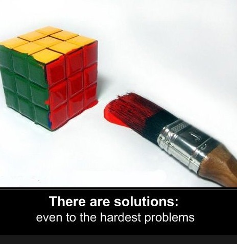 The Gordian–Rubik cube. the-absolute-funniest-posts:   Follow this blog, you will love it on your dashboard