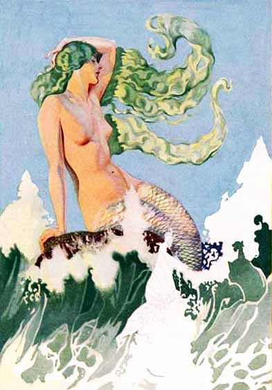 vintagegal: The Siren Call - Coles Phillips, 1929