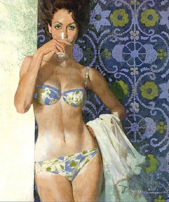 noonesnemesis:  The Bad Girl Robert McGinnis
