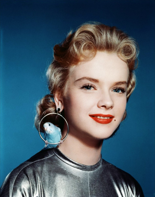 "vintagegal:  Anne Francis in ""Forbidden Planet"" 1956"