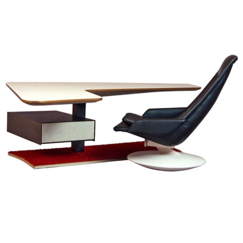 Boomerang Desk and Gemini Chair