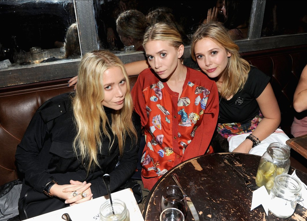 The Olsens. Mary-Kate, Ashley y Elizabeth Olsen.