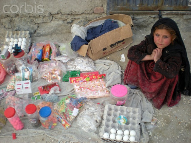 refugee in Bagrame district, north of Kabul, Afghanistan.