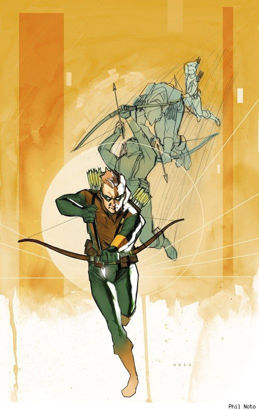 Green Arrow by Phil Noto