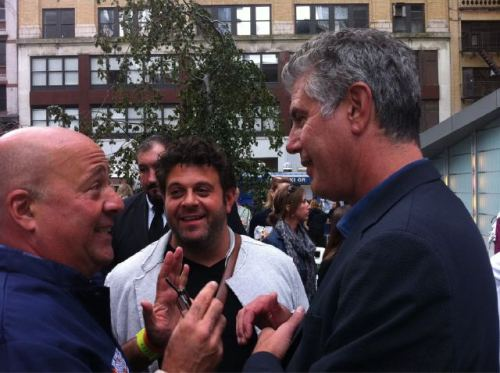 wheresthecake:  The holy trinity: Zimmerman, Richman, and Bourdain