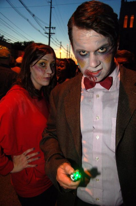 dalekjess:  I may or may not have entered Zombie Amy Pond + Zombie Doctor in the BBCA Costume Contest.   Fantastic. Details on the BBC America Halloween Costume Contest (#HalloWHOeen) are over here. The October 18th deadline will soon be upon us…