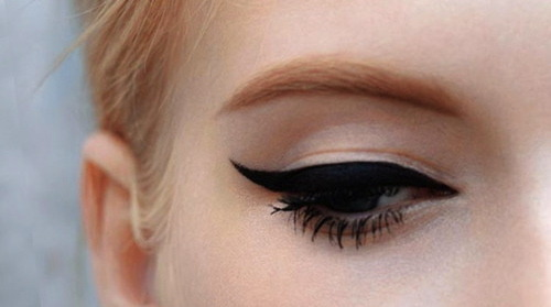Winged Eyeliner = Only Eyeliner