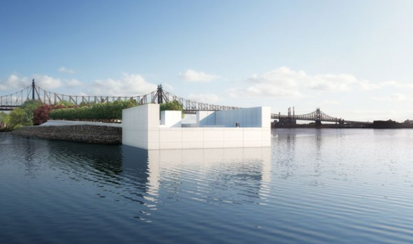 Louis Kahn's Franklin D. Roosevelt Four Freedoms Park, one of the hundreds of si