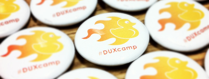 DUXcamp is 2 weeks away!  The conference is shaping up to be a great one with lots of folks coming from all over.  If you are registered and can't make it, please let us know (email us at duxcamp@npr.org) so we can let a wait-listed person in.   Also, if you are planning on attending any of the Happy Hours, please let us know by taking this short survey. http://tinyurl.com/3n2ctqo