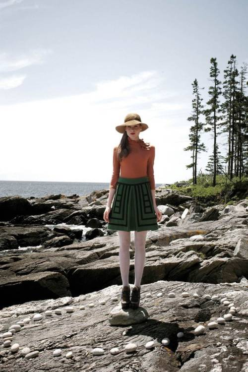 Anthropologie's Tsuga Skirt - $148 I'm loving this skirt for its geometrical design. I haven't had a lot of free time in Manhattan in the last week so I haven't happened into the store to try it on. Reviewers are complaining a little about its weight, but considering how absolutely frigid New York gets in the winter, that surely can't be a con. I feel like it'd look great with some mahogany boots.