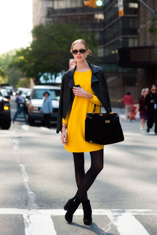 the-streetstyle:  New York Fashion Week SS 2012…Fridavia vanessajackman