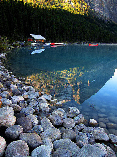 theworldwelivein:  Lake Louise, Alberta 2011 (by Gord McKenna)