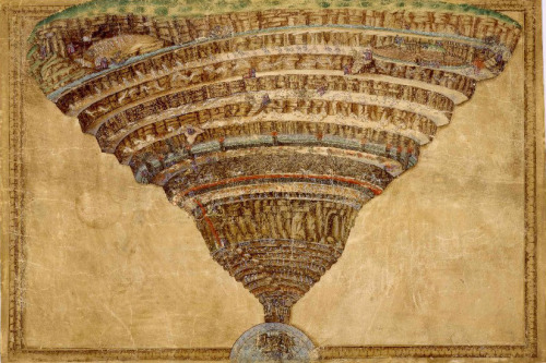 Sandro Botticelli  The Chart of Hell   [1480, 1495]