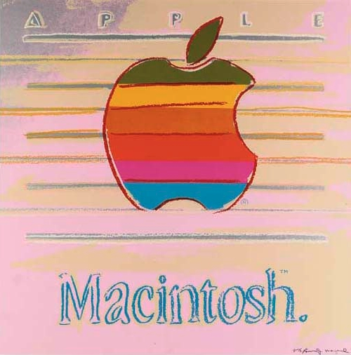 jaymug:  Apple Ad - Andy Warhol