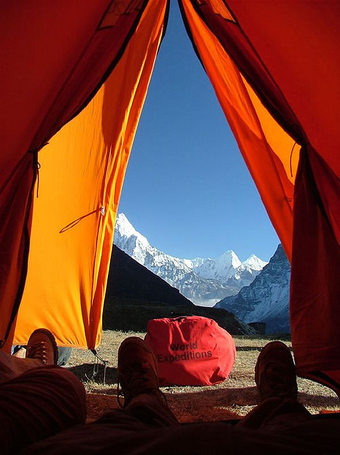 viewfromthetent:  World Expeditions by tysonnutt on Flickr.