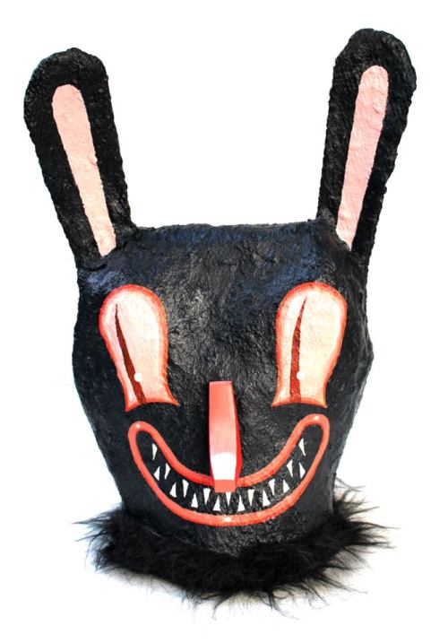 magicponyland:  Wear the Unwearable! Halloween Bunny Mask from Travis Lampe