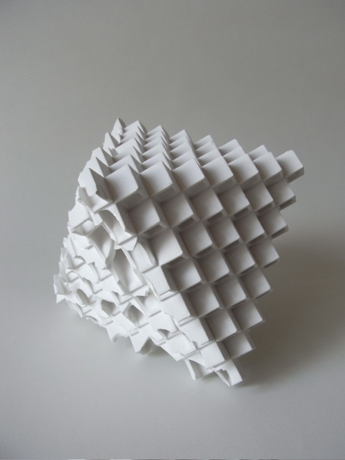 "Takeuchi Kouzo: Modern Remains, 2010, Glazed porcelain, 8"" x 8"" x 6 1/2"" / Keiko Gallery - Japanese artists"