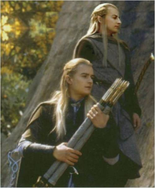 not-all-who-wander-arelost:  Legolas and Haldir. :)