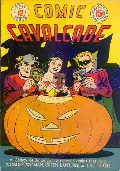 mudwerks:  (via Happy Halloween from the Golden Age of Comic Books! – Golden Age of Comic Books) Comic Cavalcade #12 (Fall 1945)