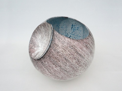 "Tanoue Shinya: Shell 11: 10-9, 2010, Glazed clay, 12 1/2"" x 13"" x 12"" (h) / Keiko Gallery - Japanese artists"