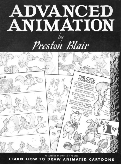 sprite37:  fungasm:  drawingforsuckas:  Advanced Animation by Preston Blair Download the book here: http://onanimation.com/downloads/pdf/preston_blair_advanced_animation.pdf  I've re-blogged this once already, but it's worth doing again. This is probably one of the most important books if you want to get better at drawing. Not just animating, but drawing too. Learn how to properly construct characters, etc. Good shit.  Here's something for everyone if you wanna up your drawing techniques, doodz