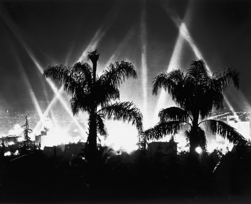 Hollywood at Night, 1930