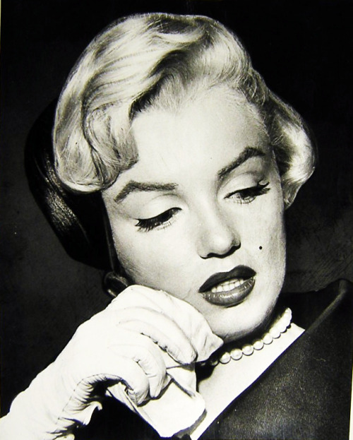 vintagegal:  Marilyn Monroe