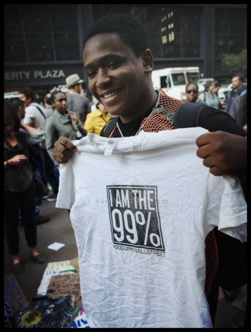 richnacin:  We are the 99%!!! Day 21 (Oct. 7th, 2011) at #OWS
