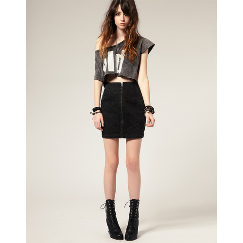 ELEVEN PARIS mini skirt   (see more short mini skirts)