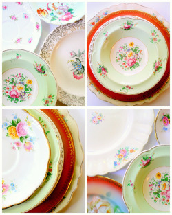 nestprettythings:  Playing with plates on Flickr. plates