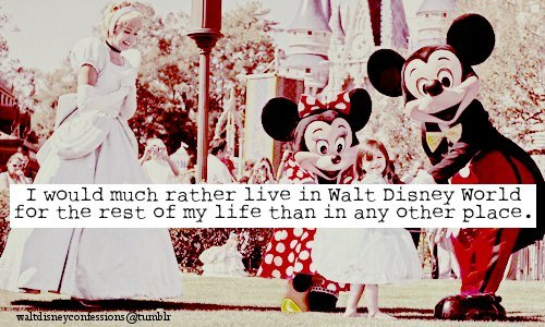 And by Walt Disney World, I mean Disneyland.