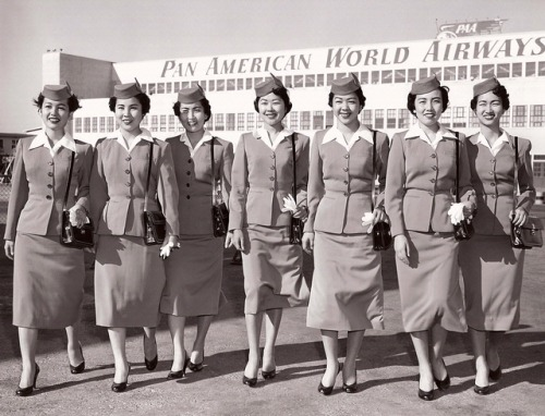shoomlah:  Hey, ABC- Remember how Pan Am employed numerous Japanese Nisei stewardesses during the 50's and 60's? Remember how they played an integral part in the history of the Jet Age, despite and possibly because of the racism and exoticization they had to face on a day-to-day basis?  OH RIGHT HAHAHA OF COURSE NOT WHY WOULD YOU Heavens, why ever would it be interesting to discuss the experience of Japanese-Americans during the post-war period.  Something to think about. I am so sick of white-washed, revisionist history television shows and movies that completely forget  ignore the marginalized people who were extremely relevant to the topic and time period. -foodieamazon