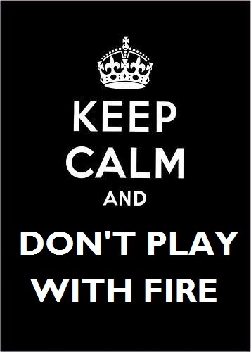 fuckyeahskulduggerypleasant:  Don't play with fire guys. ;)