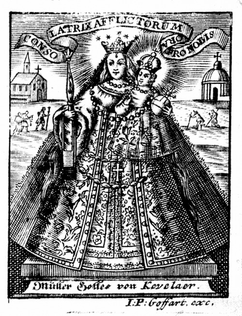 Mutter Gottes von KevelaerAn 18th century print of Our Lady of Kevelaer.