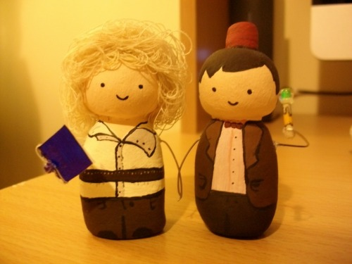 jdorrity:  Doctor/River clay people  :)