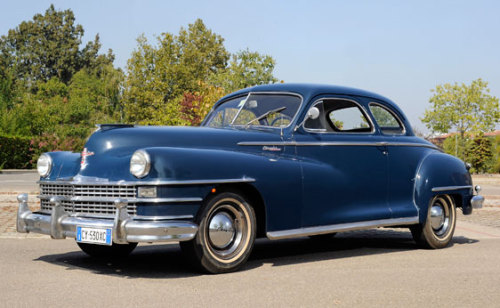 1947 Chrysler Windsor Club Coupe.