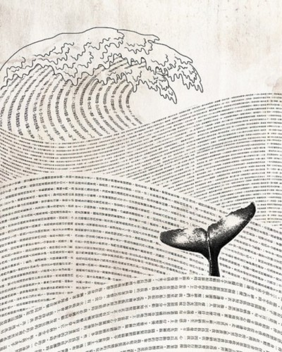 antitled:  paper whale  In conclusion: yes.