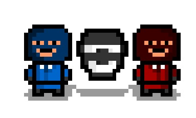 "Morning everybody !!  Let's kick off the ""Team Fortress 2"" pixelisations with The Spy.  I wonder if his face mask ever gets itchy…"
